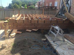 Garden Decking project liverpool