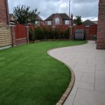 Patio and artificial lawn Liverpool