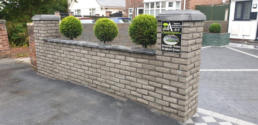 BPitch Faced Marshalite Walling Liverpool.