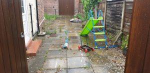restoring old depressing garden